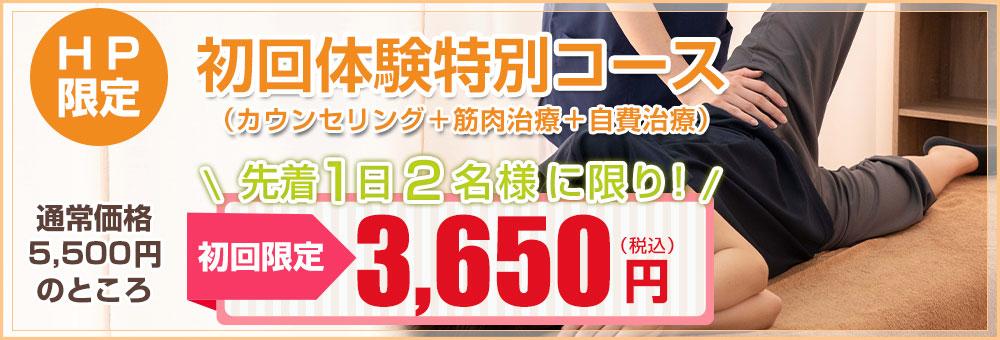 HP限定初回特別価格3650円